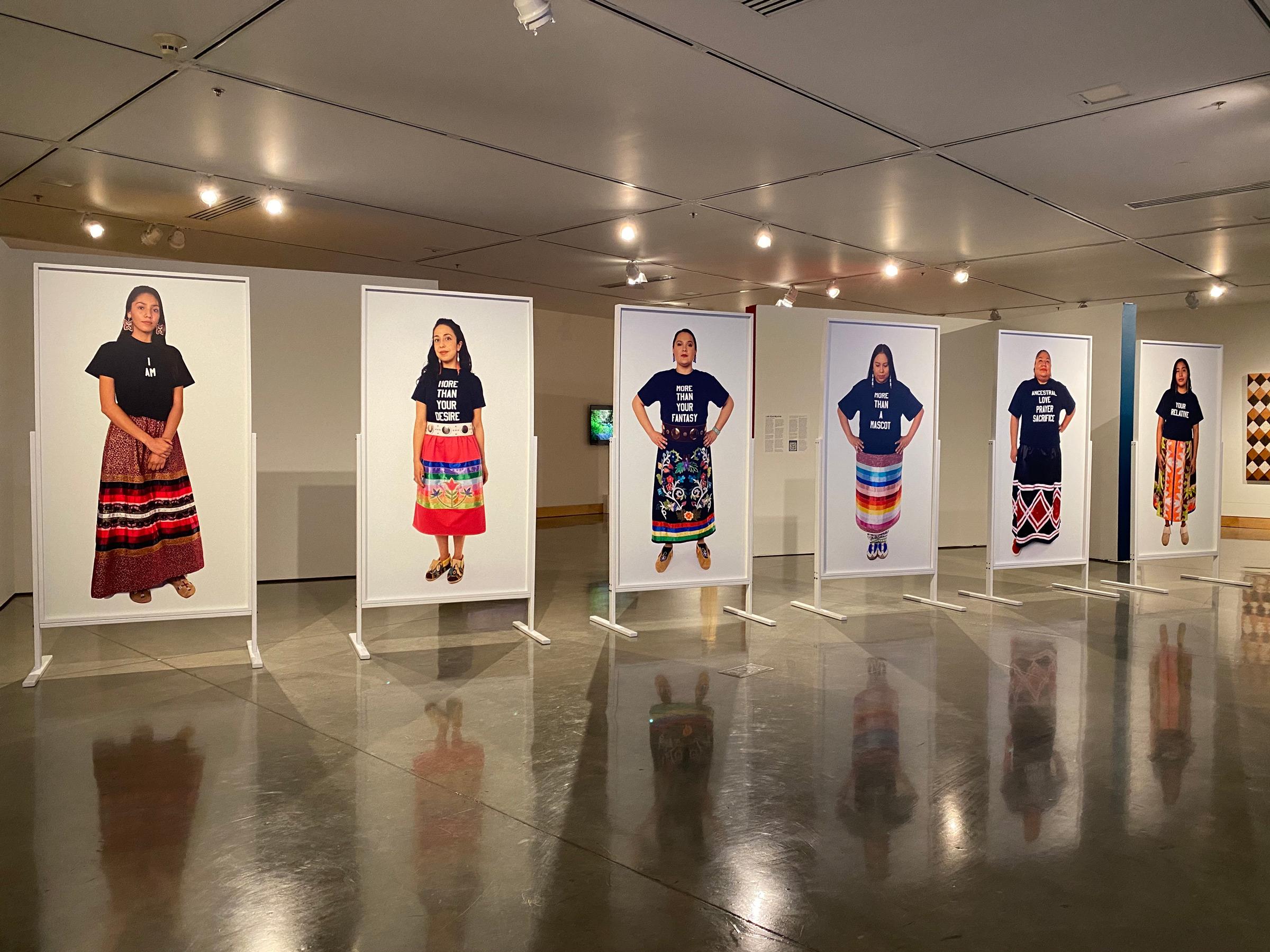 I Am Your Relative, 2020 - Plains Museum-Install